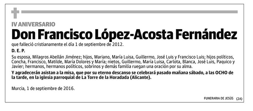 Francisco López-Acosta Fernández