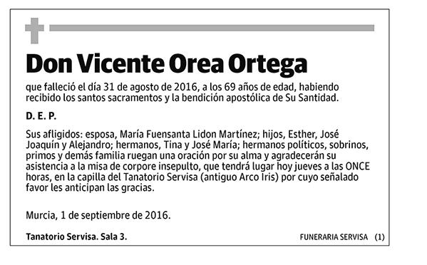 Vicente Orea Ortega