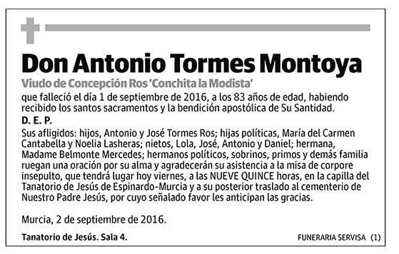 Antonio Tormes Montoya