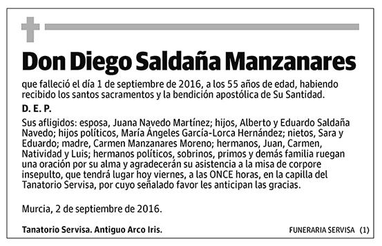 Diego Saldaña Manzanares