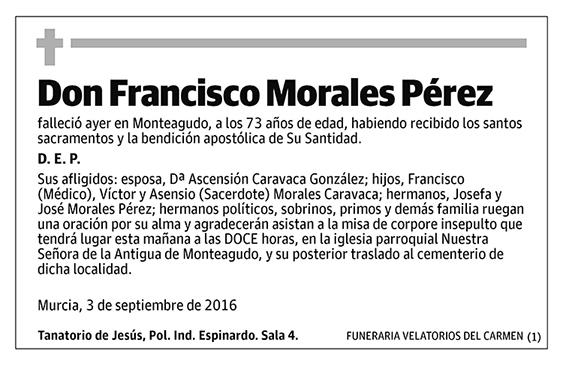 Francisco Morales Pérez