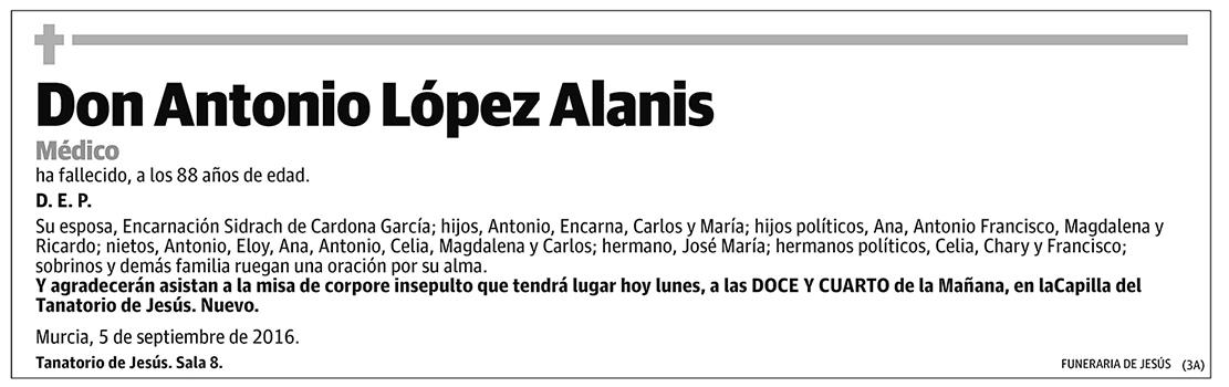 Antonio López Alanis