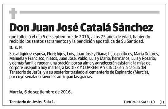 Juan José Catalá Sánchez