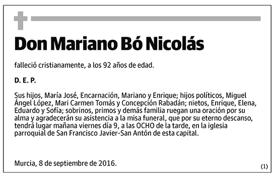 Mariano Bó Nicolás