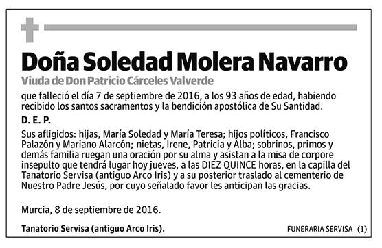 Soledad Molera Navarro