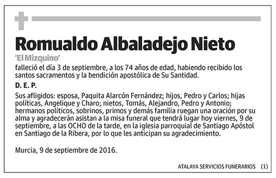 Romualdo Albadalejo Nieto