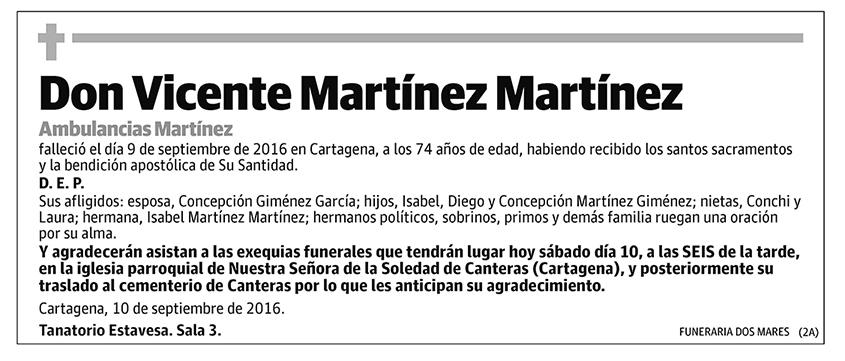 Vicente Martínez Martínez