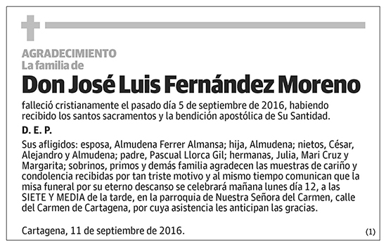 José Luis Fernández Moreno