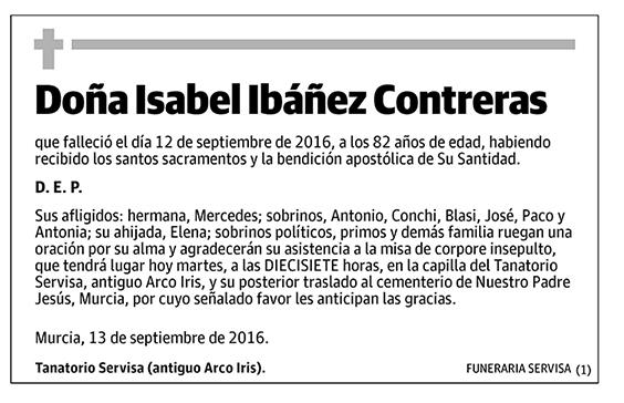 Isabel Ibáñez Contreras