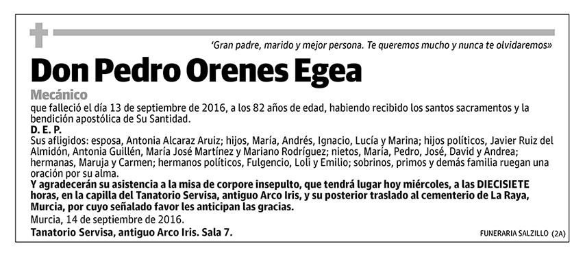 Pedro Orenes Egea