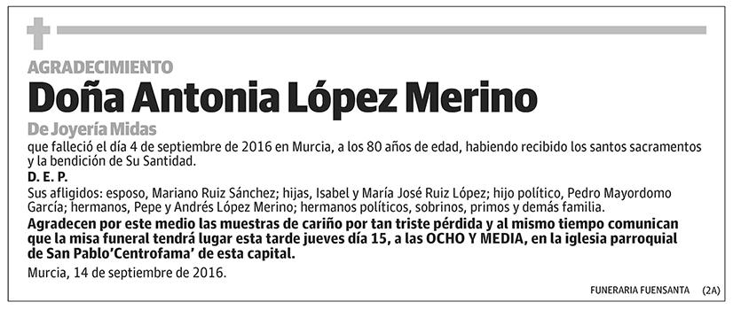 Antonia López Merino
