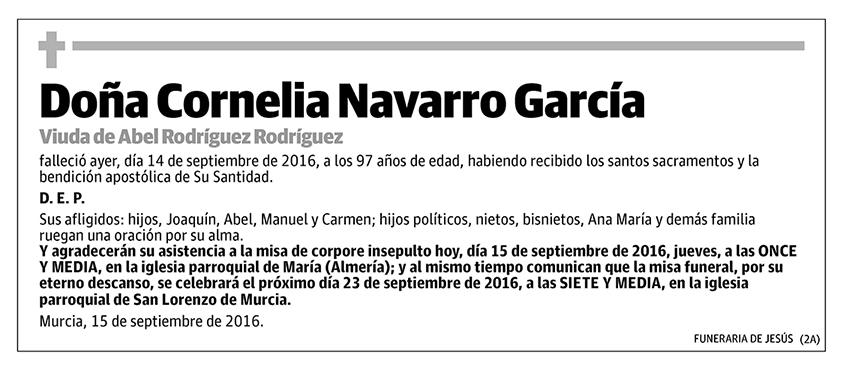 Cornelia Navarro García