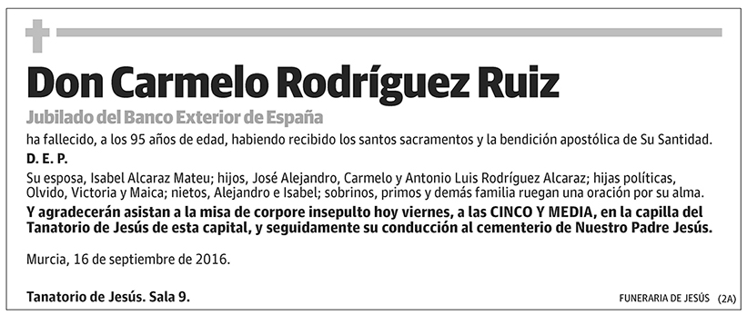 Carmelo Rodríguez Ruiz