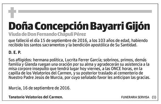 Concepción Bayarri Gijón