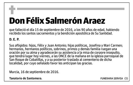 Félix Salmerón Araez