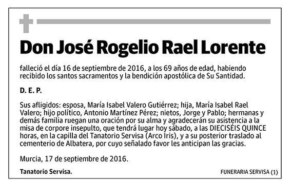 José Rogelio Rael Lorente