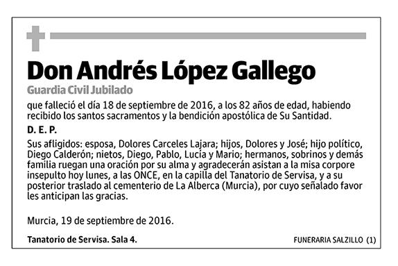 Andrés López Gallego