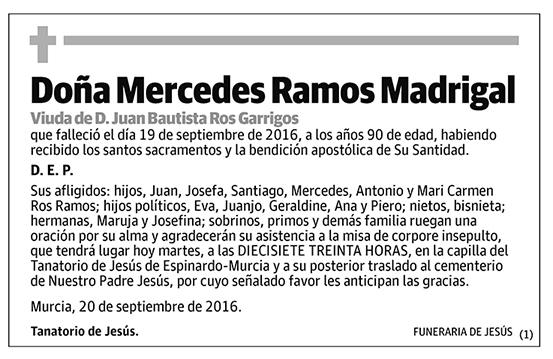 Mercedes Ramos Madrigal