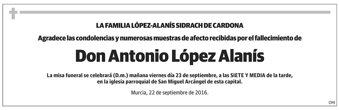 Antonio López Alanís