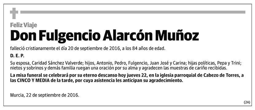 Fulgencio Alarcón Muñoz