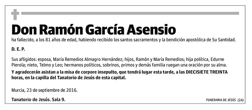 Ramón García Asensio