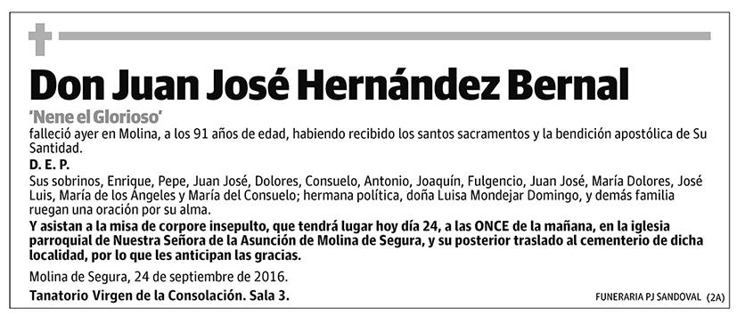 Juan José Hernández Bernal