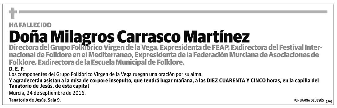 Milagros Carrasco Martínez