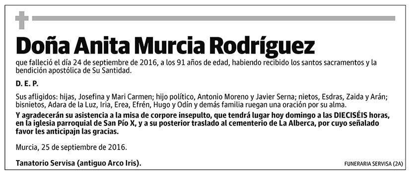 Anita Murcia Rodríguez