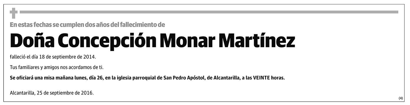 Concepción Monar Martínez