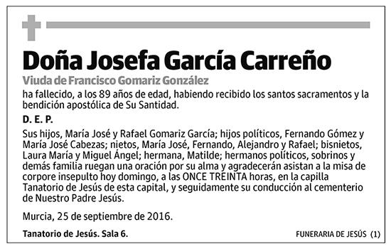 Josefa García Carreño