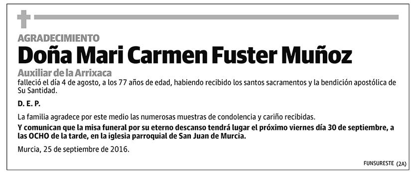 Mari Carmen Fuster Muñoz