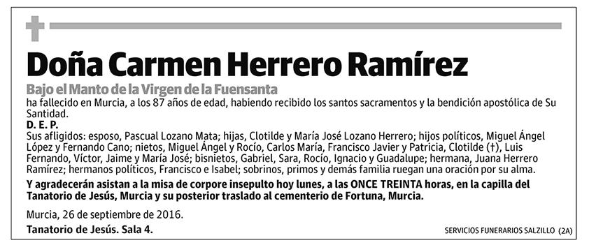 Carmen Herrero Ramírez