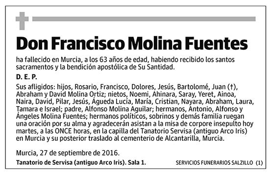 Francisco Molina Fuentes
