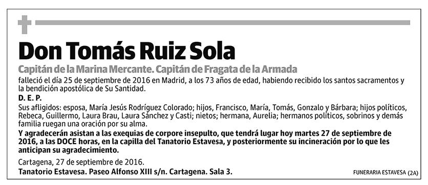 Tomás Ruiz Sola
