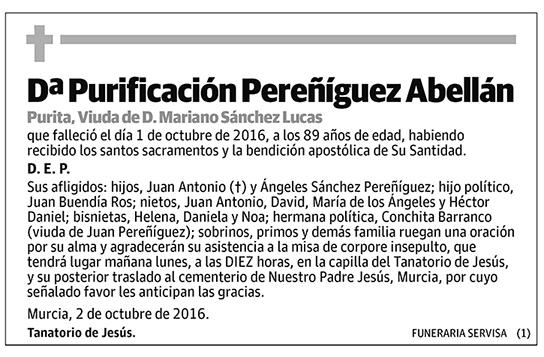 Purificación Pereñíguez Abellán