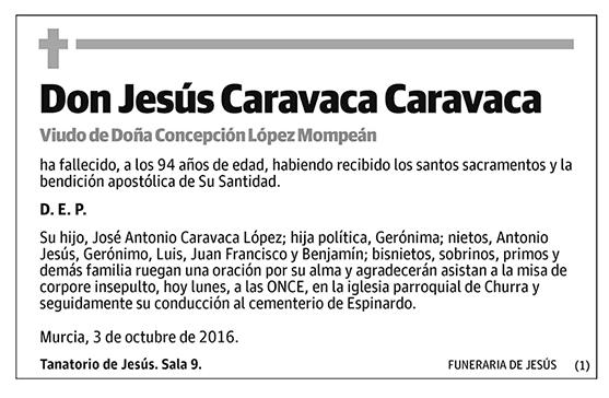 Jesús Caravaca Caravaca