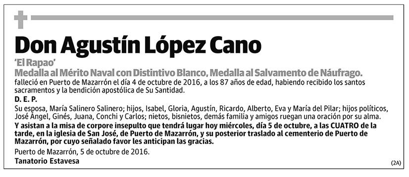 Agustín López Cano