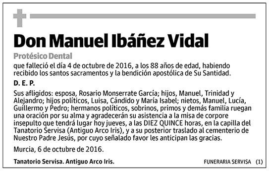 Manuel Ibáñez Vidal