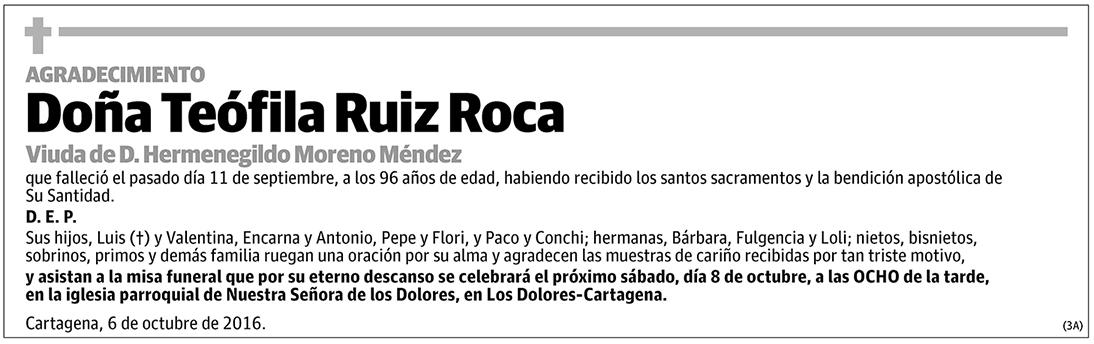 Teófila Ruiz Roca
