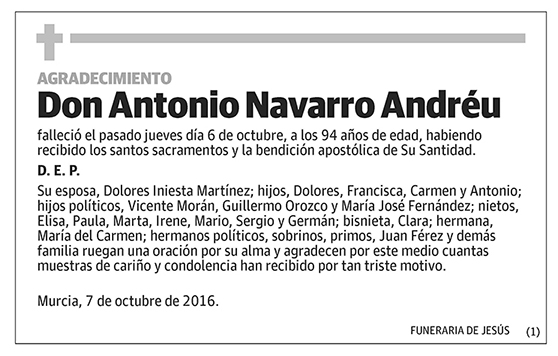 Antonio Navarro Andréu