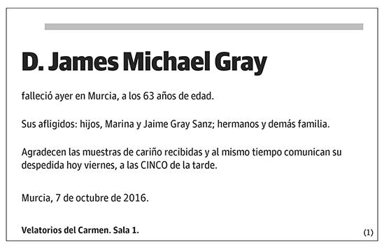 James Michael Gray