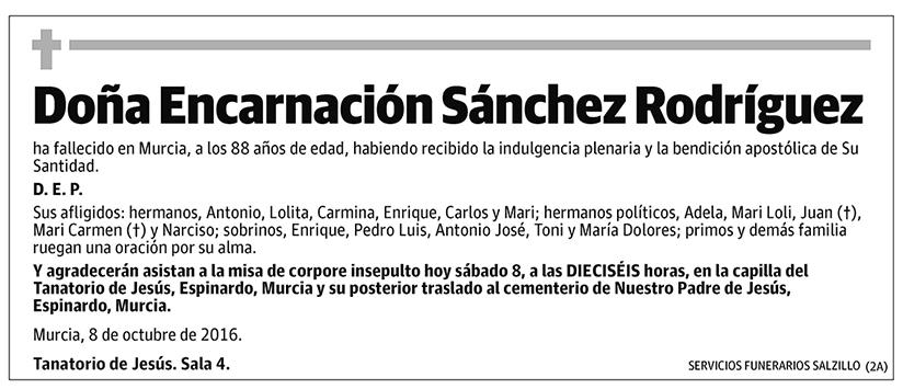 Encarnación Sánchez Rodríguez