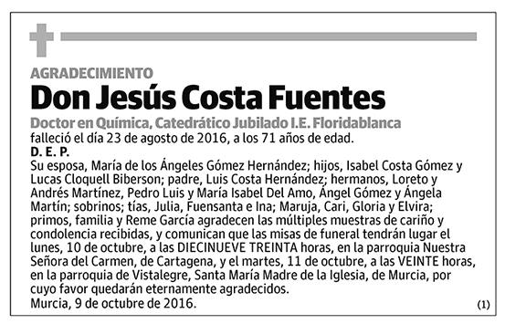 Jesús Costa Fuentes