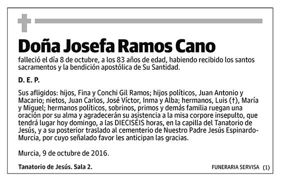 Josefa Ramos Cano