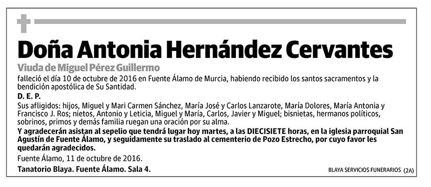 Antonia Hernández Cervantes