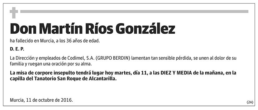 Martín Ríos González