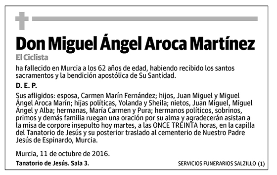 Miguel Ángel Aroca Martínez