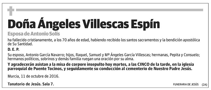 Ángeles Villescas Espín