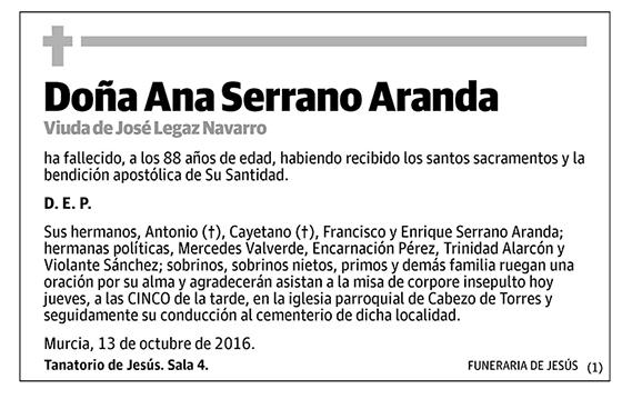 Ana Serrano Aranda