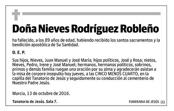 Nieves Rodríguez Robleño
